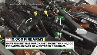 10,000 firearms bought back by the NZ government since Christchurch shooting l Significant Digits