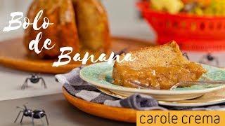 Bolo de Banana - Cozinhando com Carole - Episódio  01