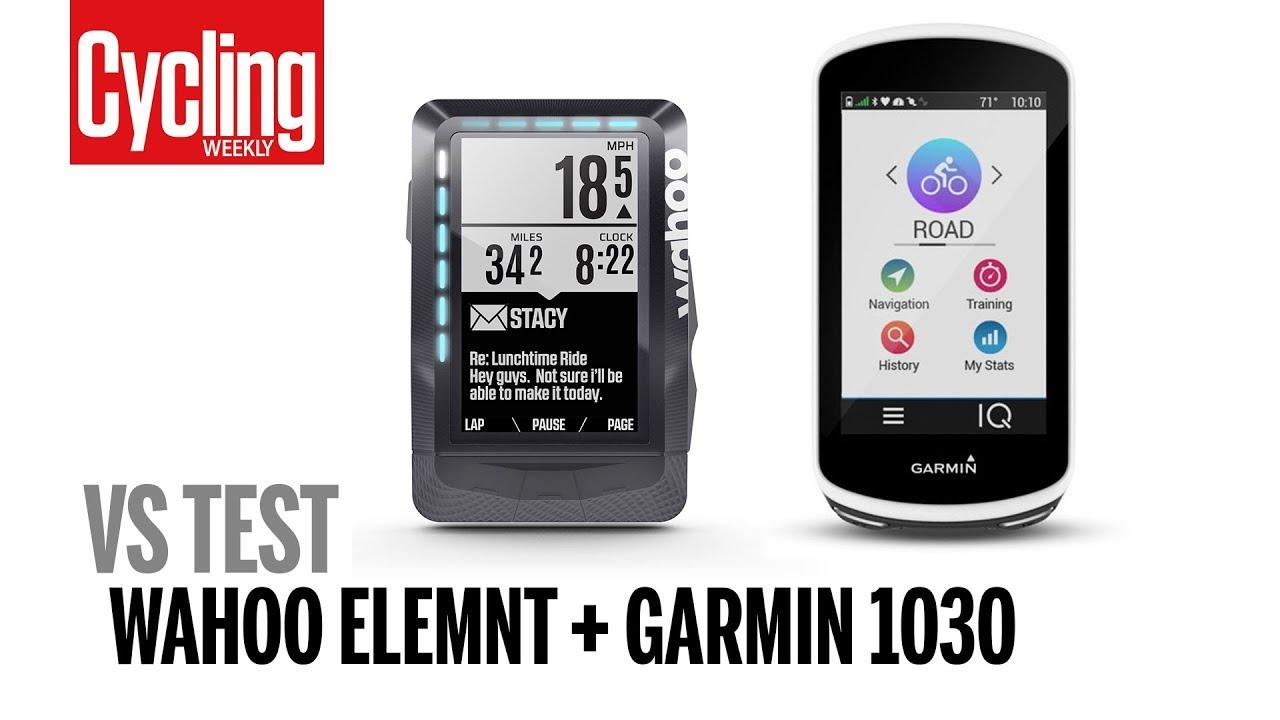 Wahoo Elemnt VS Garmin 1030 | Head to Head Test | Cycling Weekly