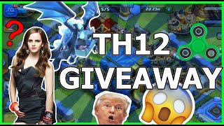 Clash Of Clans account giveaway! Th12 Max account giveaway