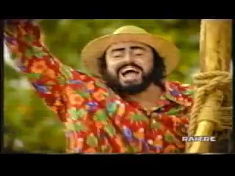 Spot Monte dei Paschi di Siena con Luciano Pavarotti (2000)