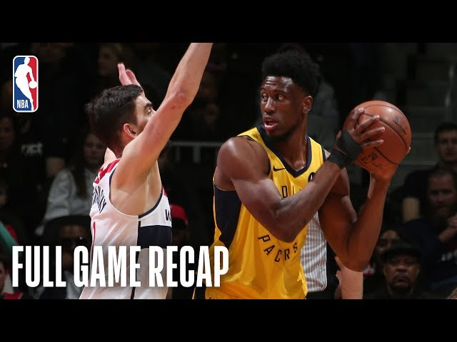 PACERS vs WIZARDS   Balanced Attack Leads Indiana   February 23, 2019
