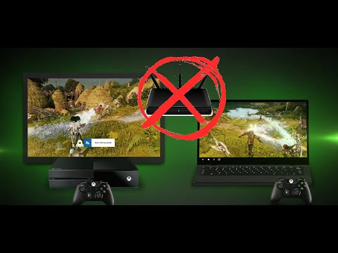 Подключить XBOX ONE к Ноутбуку без роутера (напрямую)