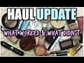 HAUL UPDATE | What Worked & What Didn't