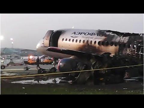 Восстановлена полная картина катастрофы SSJ-100 в Шереметьево