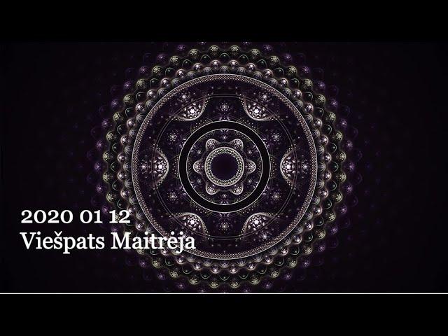 2020 01 12 Pranešimas ašrame. Viešpats Maitrėja: Išorinio ir vidinio pasaulių pažinimas