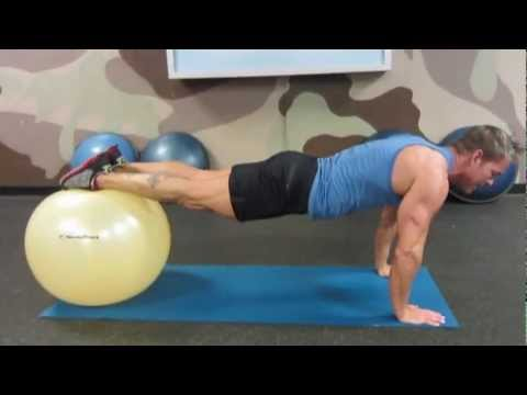 Abs & Core Workout Using a Fit Ball