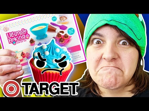 CASH Or TRASH? Testing 4 Food Craft Kits From Target Cupcake, Foodie Surprise, Cotton Candy Maker