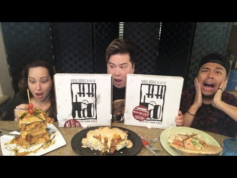 10,000+ CALORIES EPIC MUKBANG / HASH HOUSE A GO GO / EATING SHOW