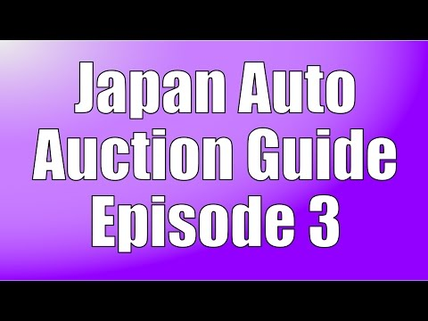 Japan Auto Auction Guide #3 - How to Read Auction Sheets