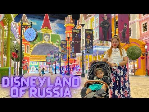 Ru Ep9| Disneyland In Russia | Dream island Amusement Park