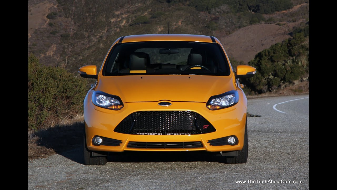 2014 ford focus st review and road test youtube. Black Bedroom Furniture Sets. Home Design Ideas