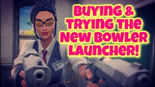 Live Fortnite Save the World Buying & Trying the New Bowler Launcher!