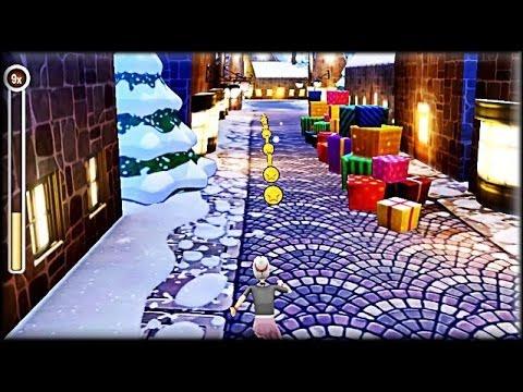 Angry Gran Run: Christmas Village Game