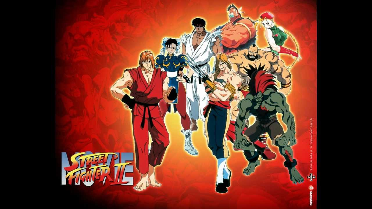 Street Fighter 2 The Animated Movie Ost Ken Remembers Flashbacks