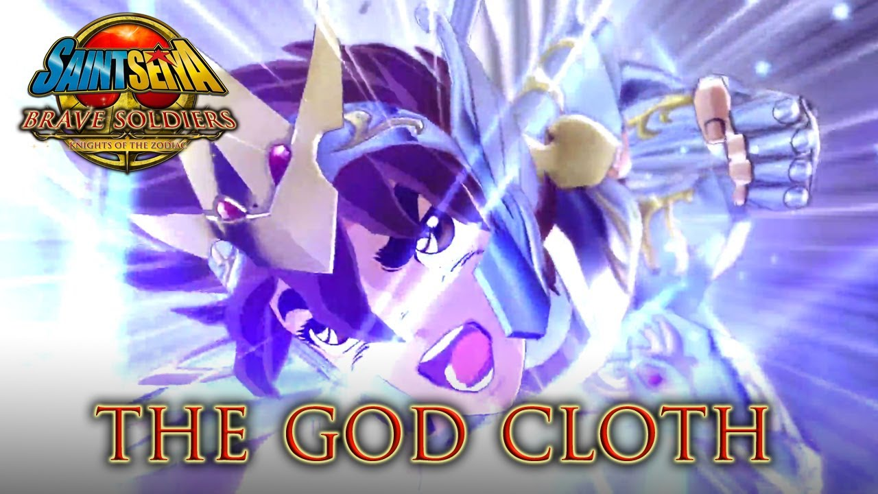 Saint Seiya Brave Soldiers - PS3 - The God Cloth (Trailer) - YouTube