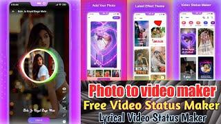 Vido : Lyrical Video Status Maker | Status Maker Best App & Lyrical Video Editing | Rap Lyrics screenshot 4