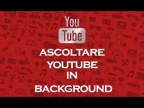 Ascoltare la musica YouTube a schermo spento!