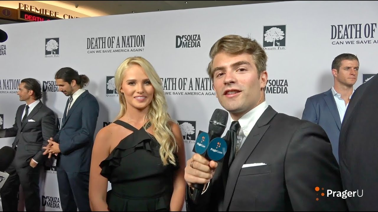 Will Witt Interviews Tomi Lahren at the Premiere of Death of a Nation