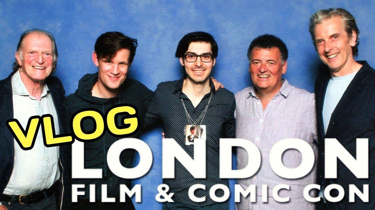 d89f654d0c27 LONDON FILM   COMIC CON 2018 Vlog   Tom Baker