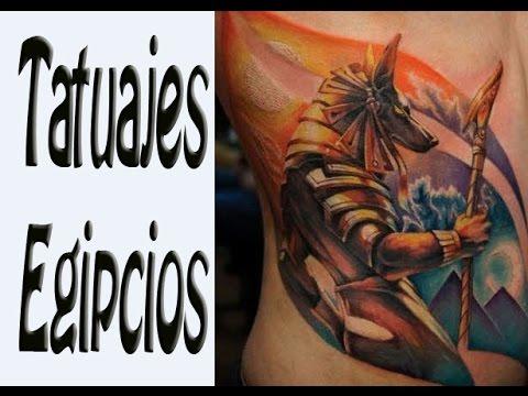 Tatuajes Egipcios ideas y diseños