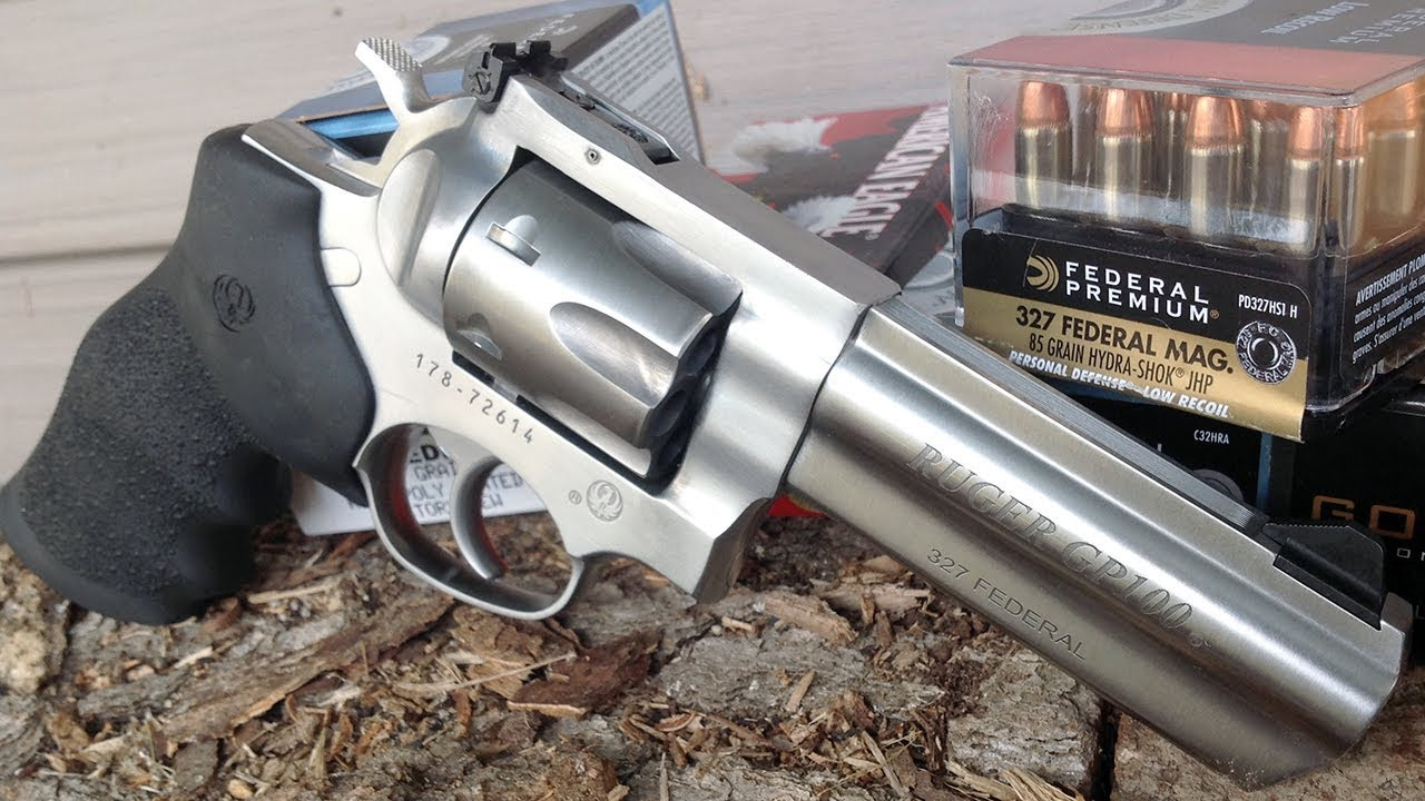 Gun Review Ruger Gp100 327 Fed Mag