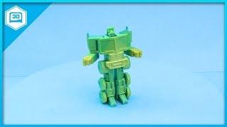 Transformable Optimus Prime #3DPrinting #timelapse @adafruit #adafruit