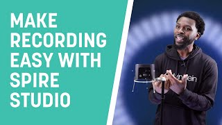 Make Recording Easy with Spire Studio | Latrell James