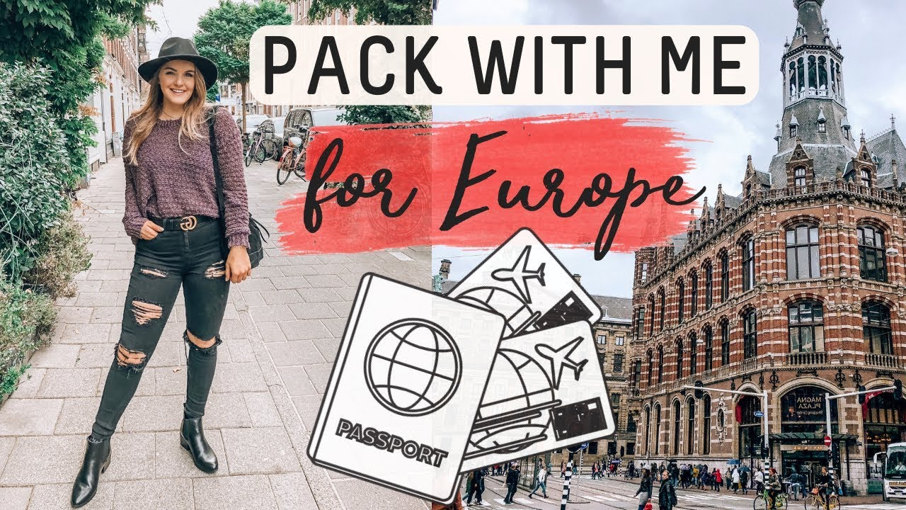 PACK WITH ME ✈️Tips + Outfit Ideas | Marie Wold 2
