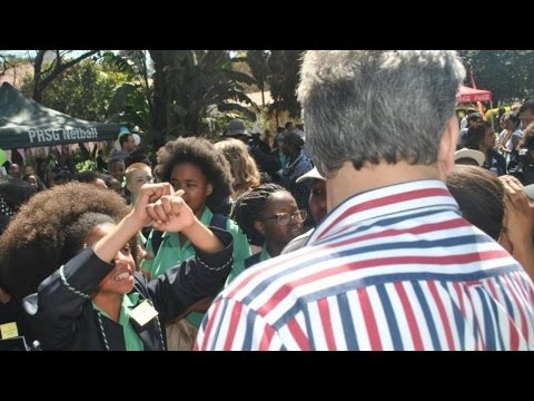 South African students protest school hair rules