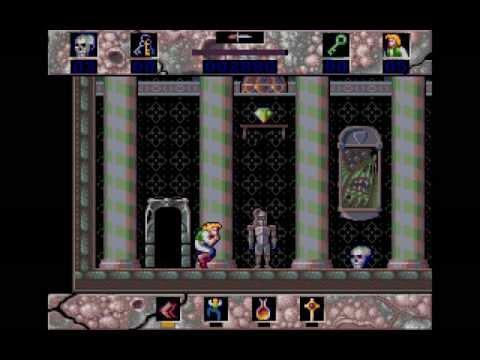 Amiga Longplay Horror Zombies from the Crypt