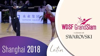 Aldaev - Polukhina, RUS   2018 GrandSlam LAT Shanghai   R1 J