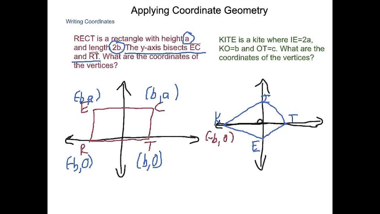 Geometry 68 applying coordinate geometry youtube ccuart Gallery