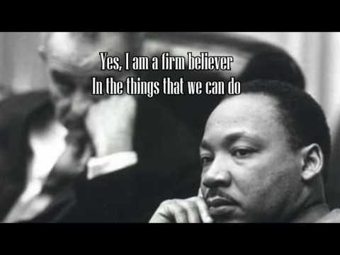 Third Day Come Together Martin Luther King Tribute with Lyrics