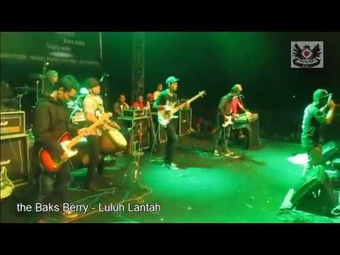 the Baks Berry  - Luluh Lantah (LIVE) (reggae Indonesia)