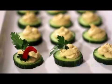 Cucumber Hummus A Fantastic Finger Food