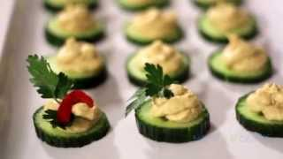 Cucumber Hummus - A Fantastic Finger Food