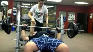 kevin machado max bench 245 pounds