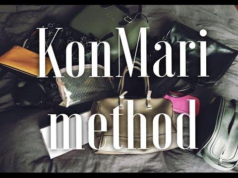 Ξεκαθάρισμα ΤΣΑΝΤΕΣ ΝΕΣΕΣΕΡ KonMari method | #victoriafesencogr