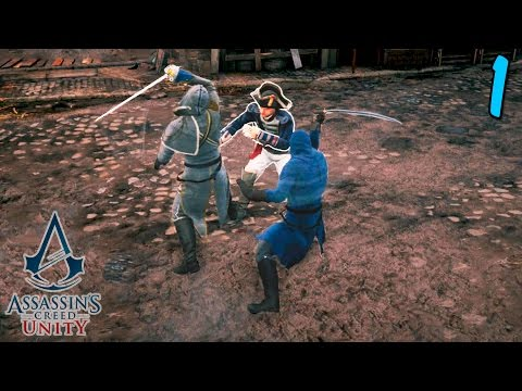 Assassin's Creed Unity Coop - Co-op Assassins! - Episode 1
