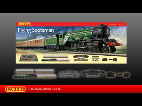 R1072 Flying Scotsman Train Set