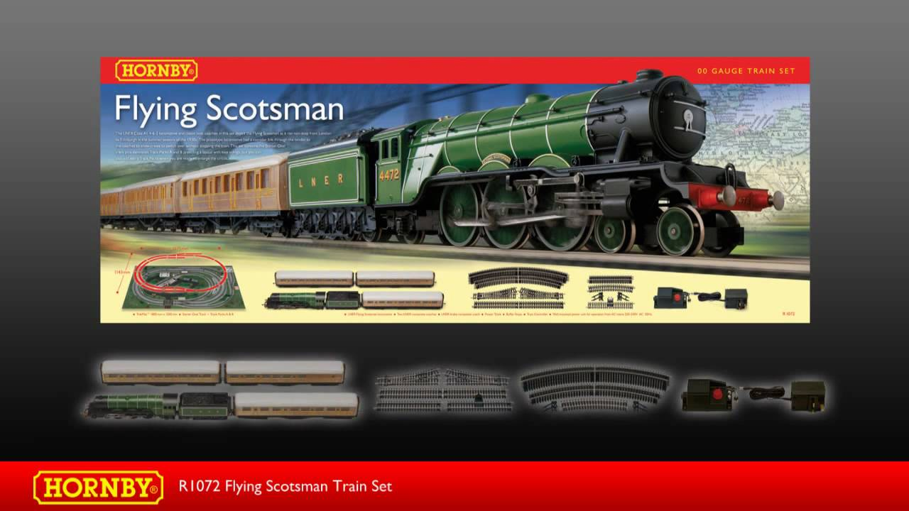 R1072 Flying Scotsman Train Set YouTube