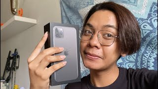 VLOG : I bought an iphone 11 pro max!! + unboxing