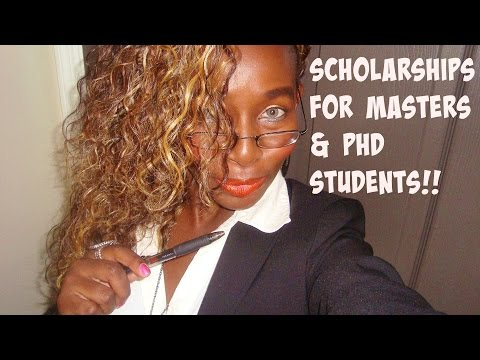 How To Get A Scholarship - Masters And PhD Students