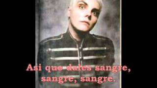 my chemical romance blood subtitulado en español