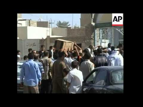 Fallujah IED attack plus Sunni cleric killed in Baghdad