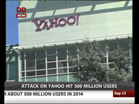 Yahoo: Hackers stole information from about 500 million users in 2014
