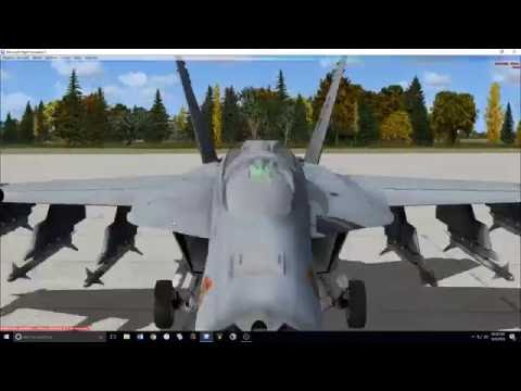 F-18 ACM