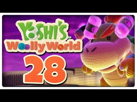 Let's Play YOSHI'S WOOLLY WORLD Part 28: Finaler Kampf gegen Baby Bowser + Credits + Fazit