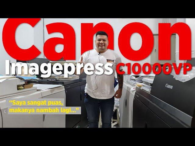 Canon ImagePRESS c10000VP Testimonial : Grafera Digital Printing, Solo